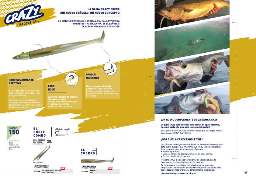 Catalogo Fiiish 2020 - Crazy Paddel Tail