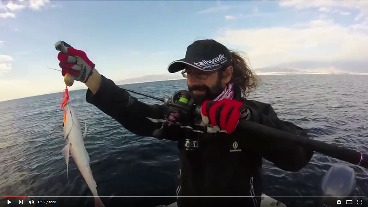 Video - Tarde pescando brecas con los Tai Rubber Triple X de Cross Two